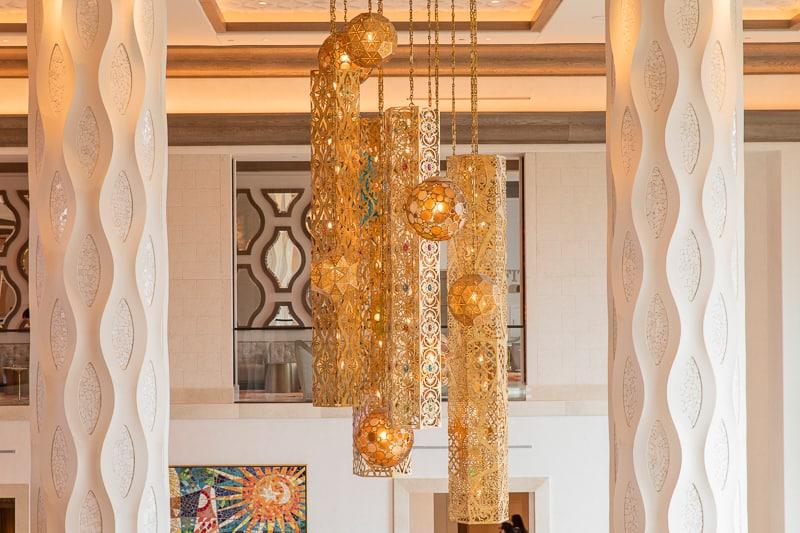 Gran Destino Tower Lobby chandelier