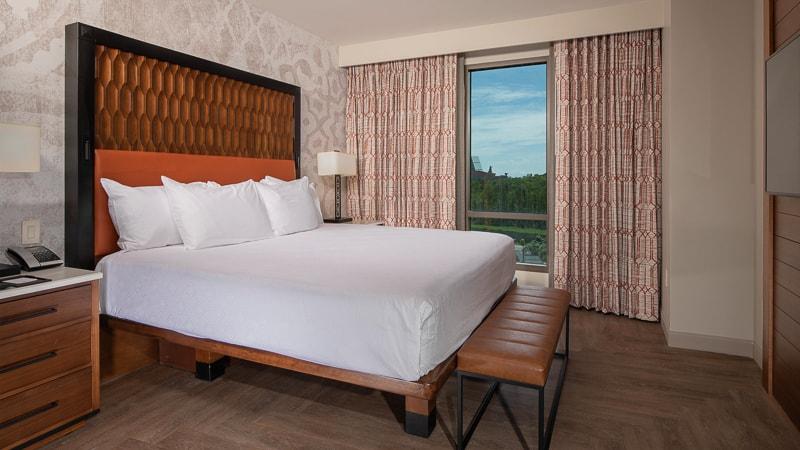 Gran Destino Tower guest rooms bedroom