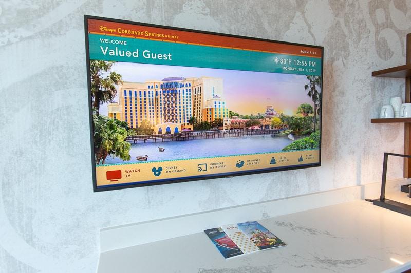 TV in Gran Destino Tower rooms