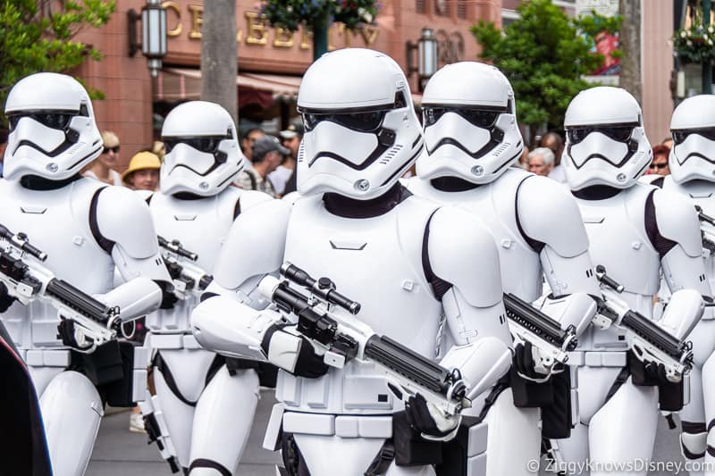 March of the First Order in Disney's Hollywood Studios
