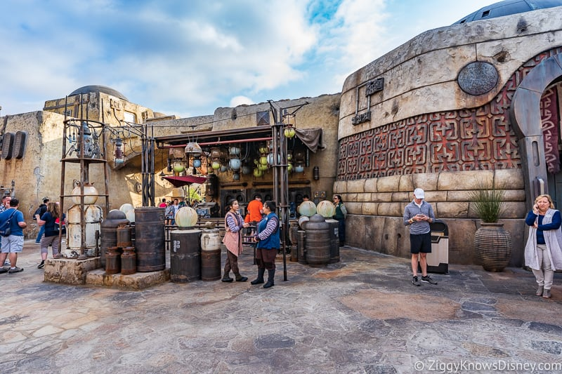 The Milk Stand in Star Wars Land