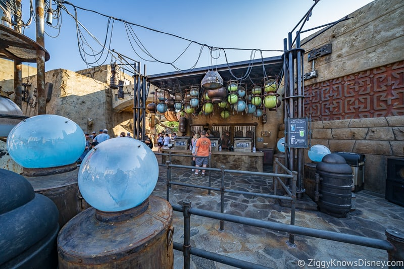 Milk Stand Galaxy's Edge line