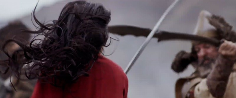live action Mulan trailer in battle