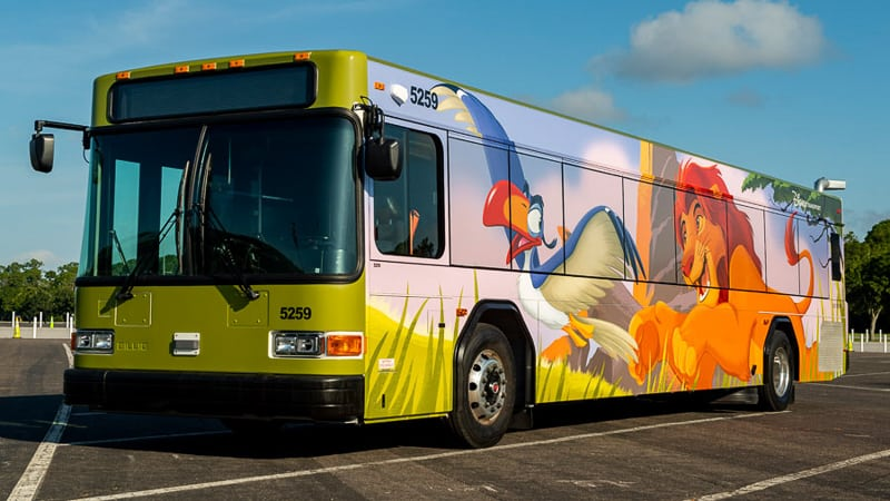 New Disney World Buses The Lion King