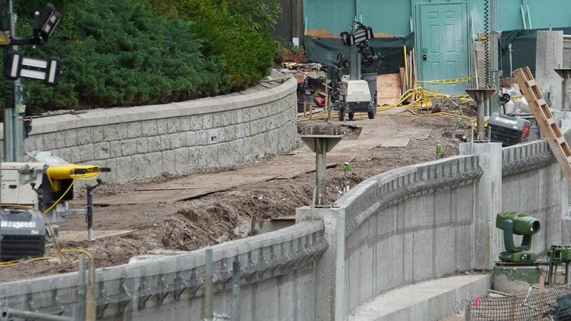 Magic Kingdom Sidewalk Expansion Progress July 2019