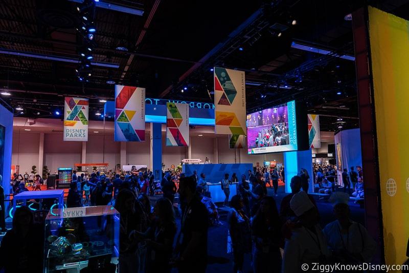 D23 Expo 2019 Disney Parks Pavilion