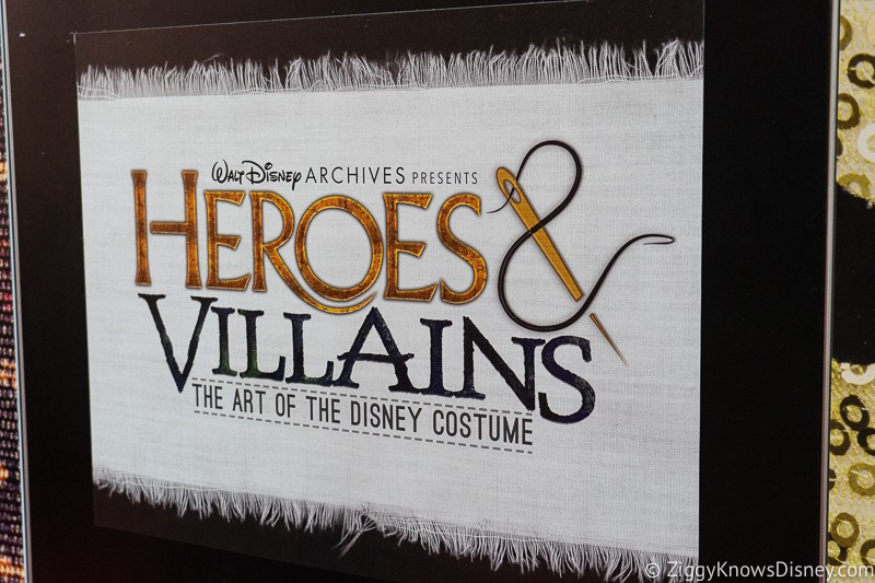 D23 Expo 2019 Disney Archives Heroes and Villains