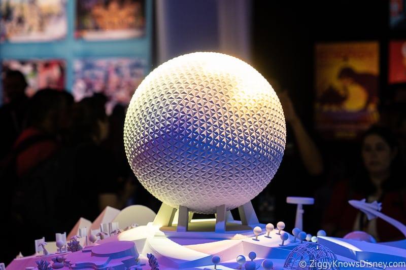 D23 Expo 2019 Epcot Exhibit