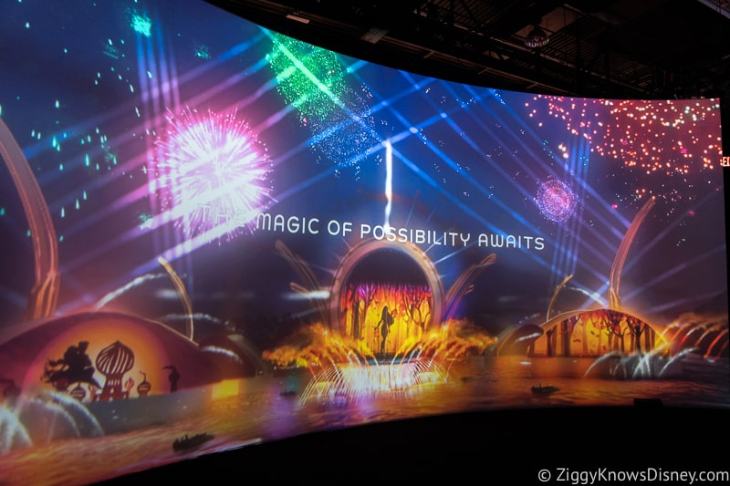 D23 Expo 2019 Epcot Exhibit