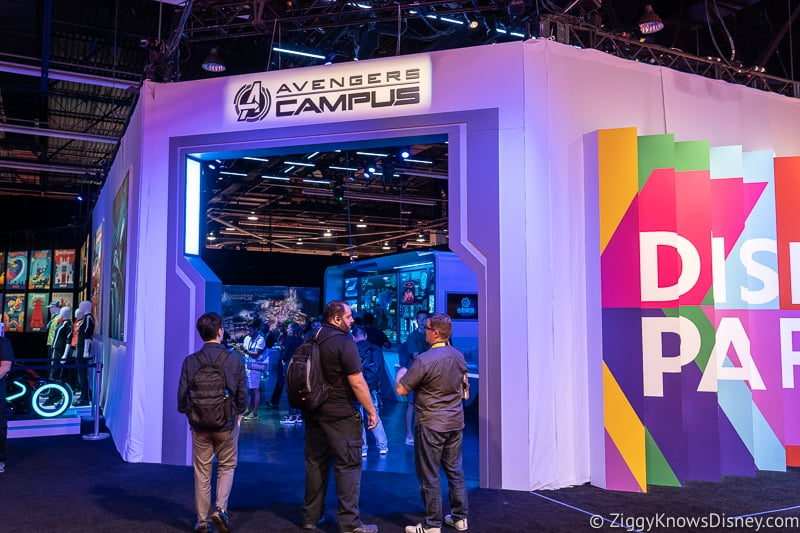 D23 Expo 2019 Avengers Campus