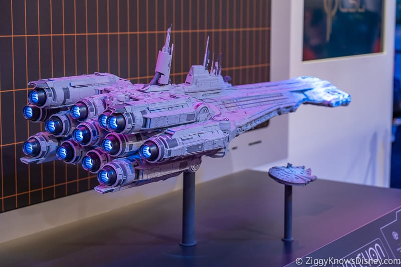D23 Expo 2019 Star Wars Galactic Starcruiser Hotel Model