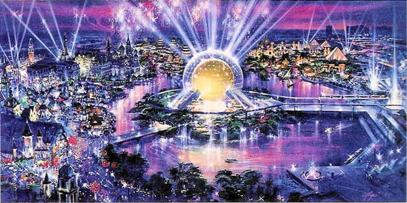 is a 5th Disney World park coming? Disney Westcot concept art