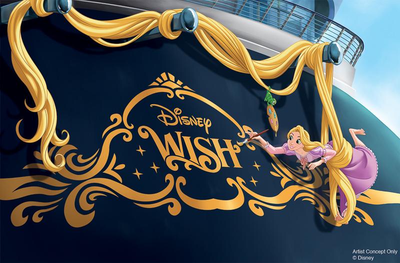 Disney Wish Rapunzel