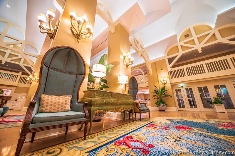 Disney's Beach Club Resort Lobby