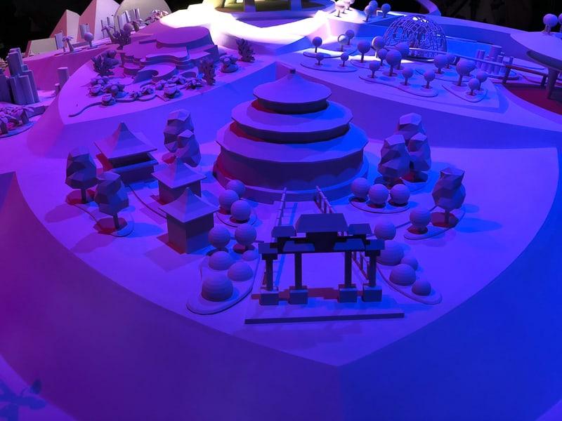 Epcot China Pavilion Model D23 Expo