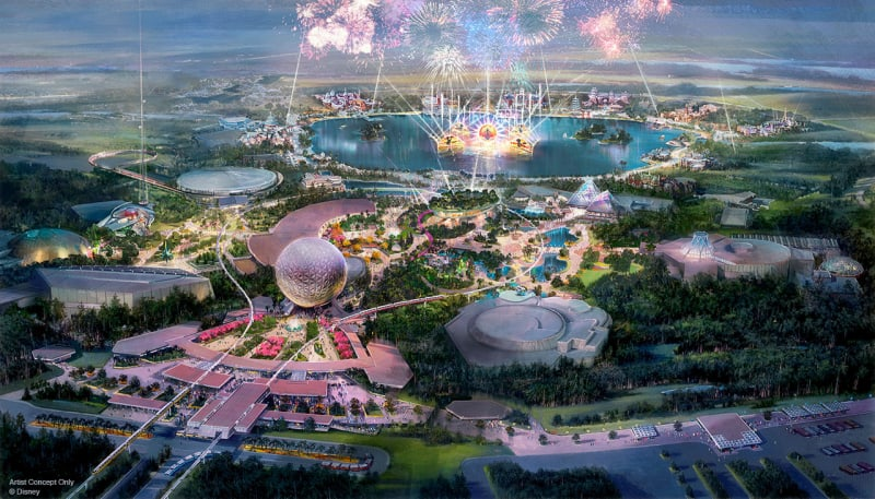 Epcot Transformation Project Concept Art