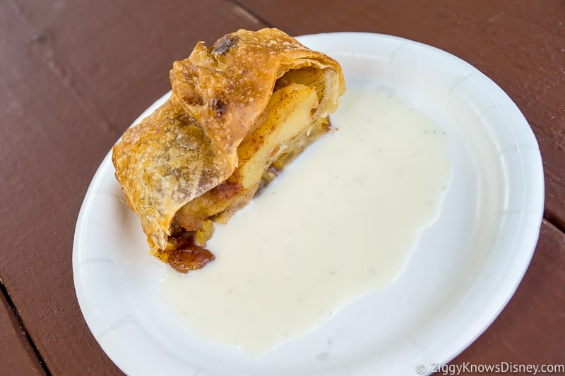 Apple Strudel Germany 2019 Epcot Food and Wine Festival