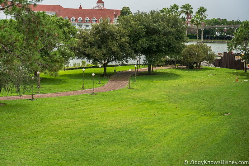 Grand Floridian Walkway update august walkway going to Magic Kingdom
