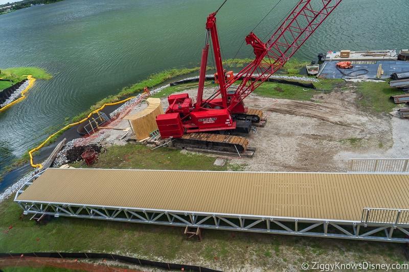 bridge for Grand Floridian Walkway update august 2019