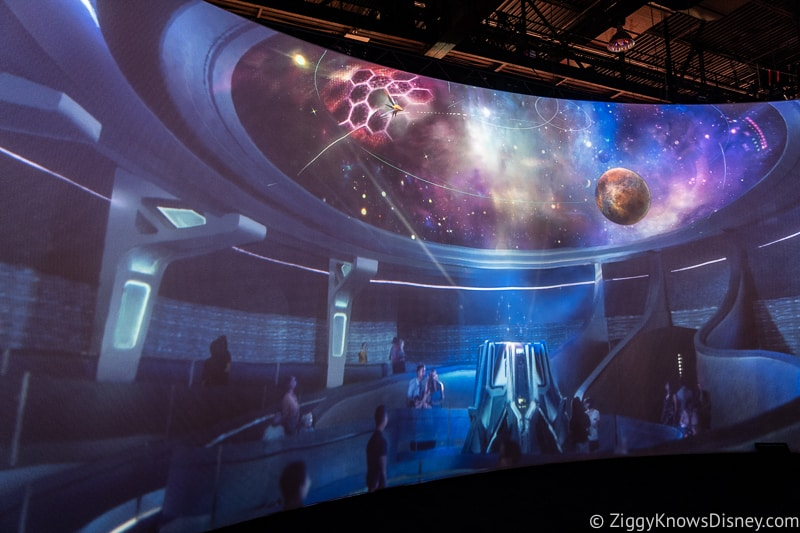 Guardians of the Galaxy: Cosmic Rewind show room concept art
