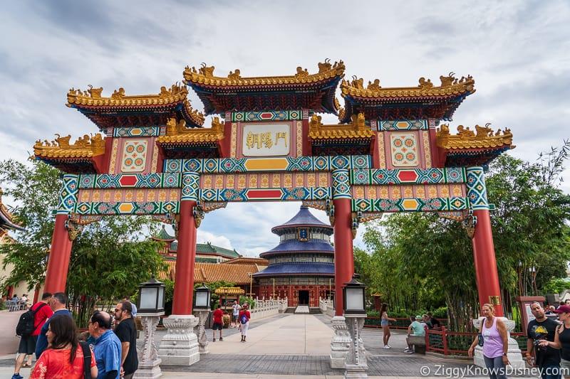 Hurricane Dorian Preparations in Walt Disney World no banner china Epcot 3