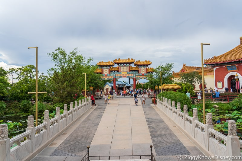 Hurricane Dorian Preparations in Walt Disney World no banner china Epcot