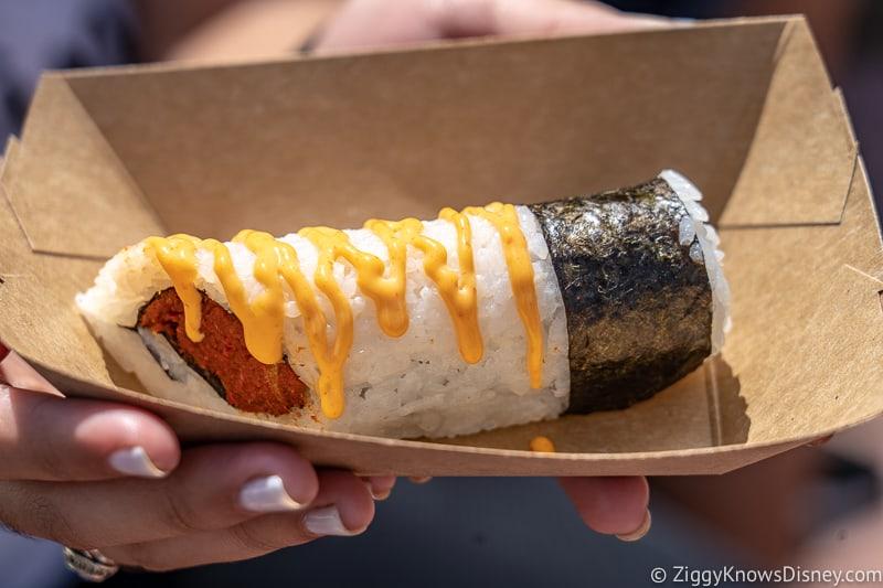 Spicy Roll Japan 2019 Epcot Food and Wine Festival