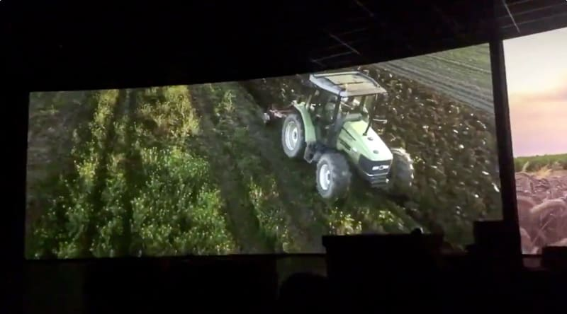 Living with the Land video upgrade tractor