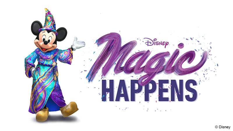 Magic Happens parade Disneyland