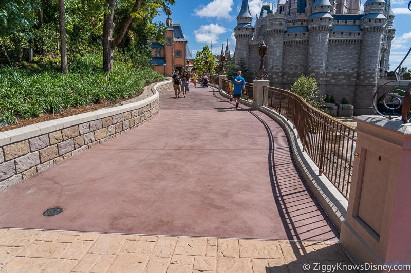 magic kingdom cinderella castle walkway update august 2019 pathway