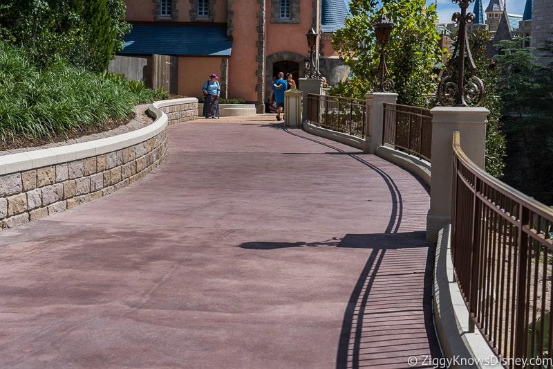 magic kingdom cinderella castle walkway update august 2019 walkway