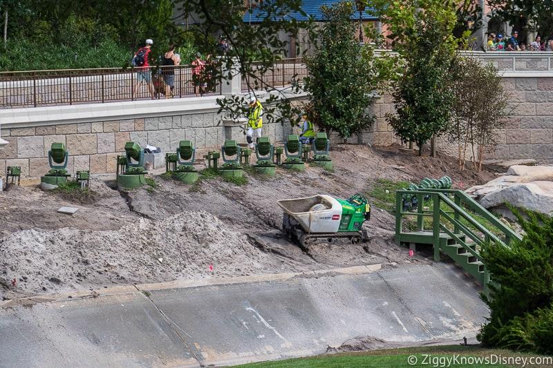 trees magic kingdom cinderella castle walkway update august 2019