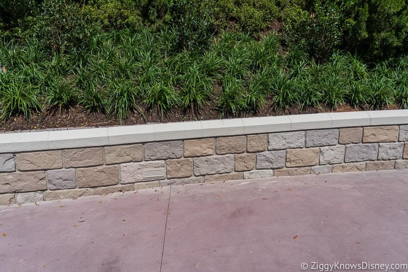 magic kingdom cinderella castle walkway update august 2019 low wall