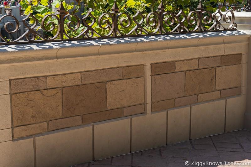 magic kingdom cinderella castle walkway update august 2019 wall