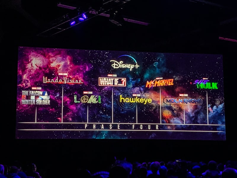 Marvel Phase 4 D23 Expo
