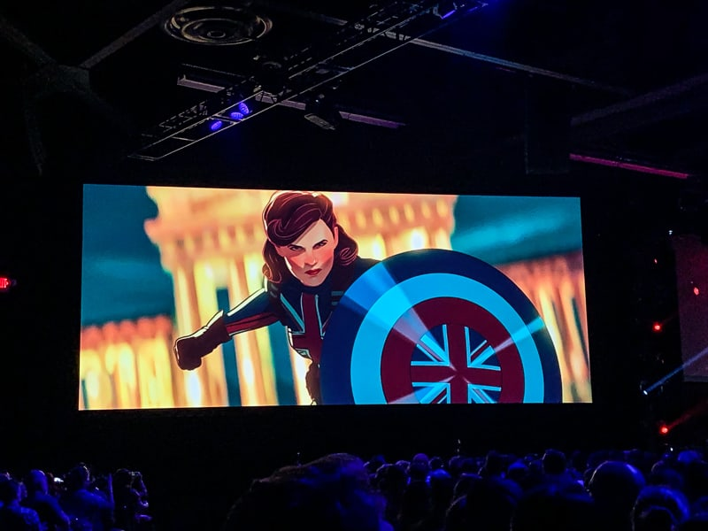 Captain Carter What If...? D23 Expo
