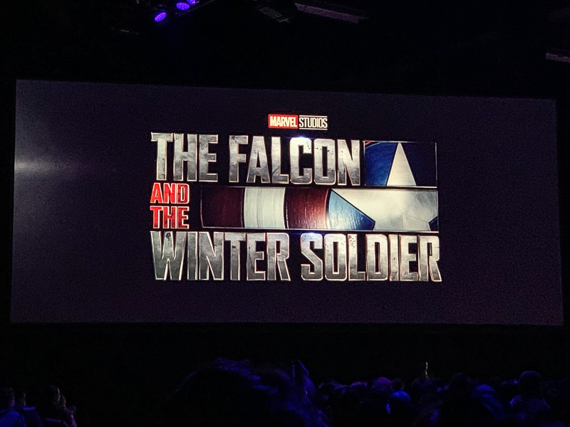 The Falcon and The Winter Soldier D23 Expo