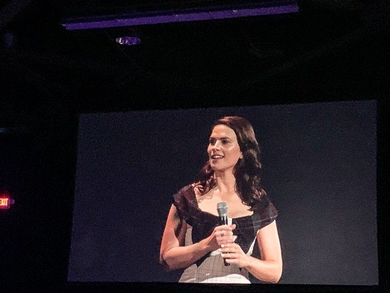 Haley Atwell D23 Expo