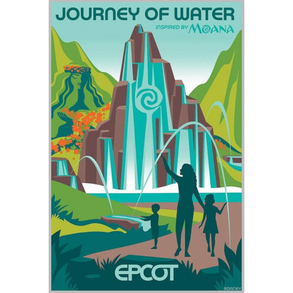 Moana Journey of Water Poster