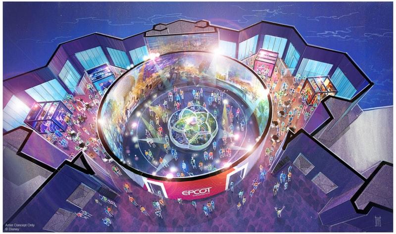 Odyssey Events Pavilion Concept Art