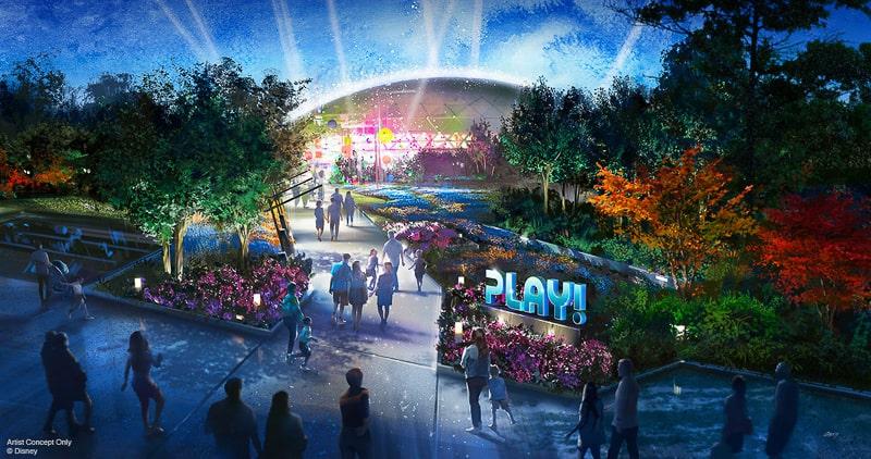 Play Pavilion epcot concept art