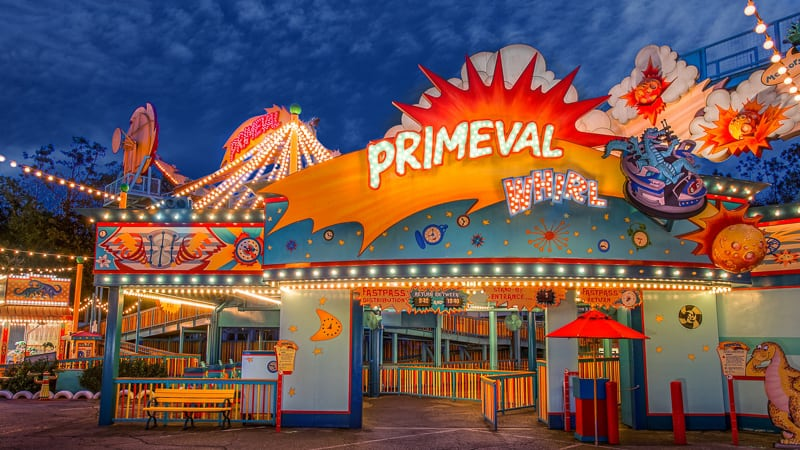Primeval Whirl entrance Disney's Animal Kingdom