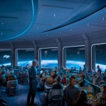 Space 220 restaurant Epcot concept art