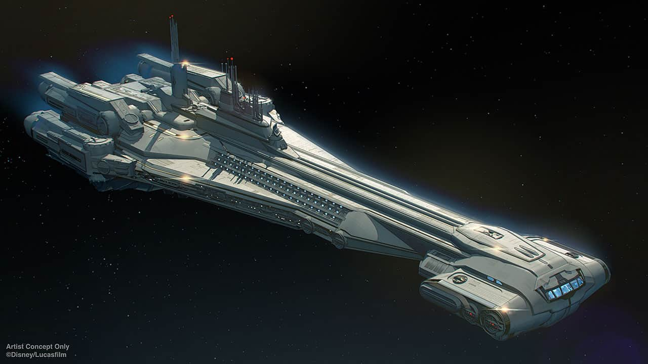 Star Wars Galactic Starcruiser Hotel concept art