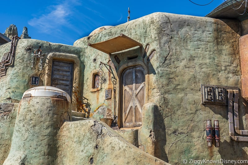 a house in Star Wars Galaxy's Edge