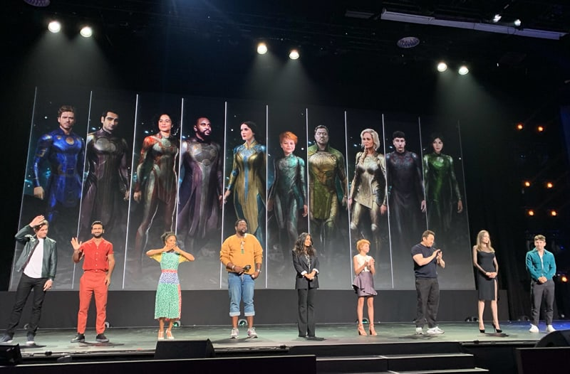The Eternals Cast D23 Expo
