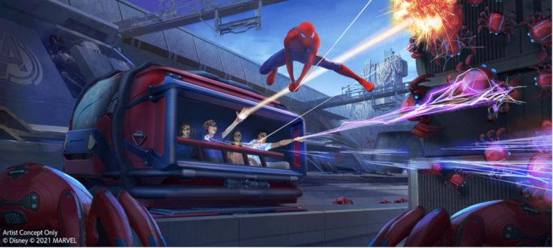 WEB SLINGERS: A Spider-Man Adventure concept art