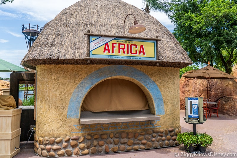 Africa Epcot Food and Wine Festival booth