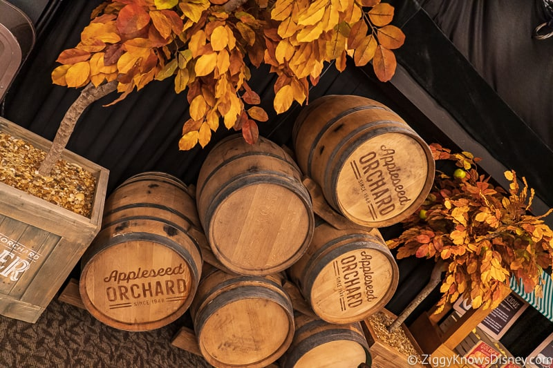 barrels Appleseed Orchard Epcot Food and Wine Festival 2019