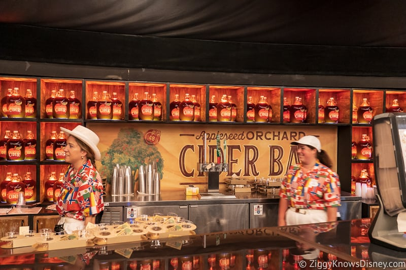 bar Appleseed Orchard Epcot Food and Wine Festival 2019